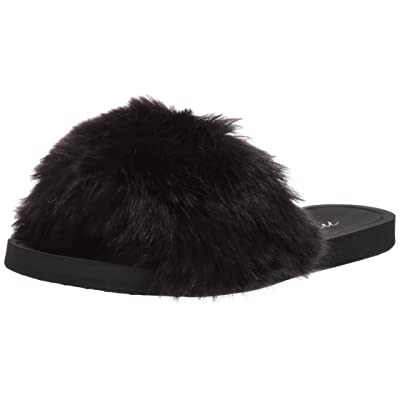 Brand - Mae Women's Marabou One-Strap Slipper: Shoes