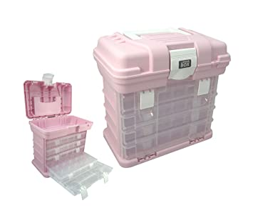 Estuche de almacenamiento con 4 compartimentos ajustables ...