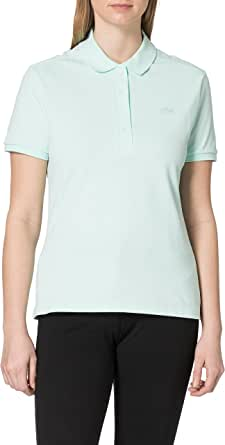 Lacoste Camisa Cuello Bord-Cotes Ma para Mujer
