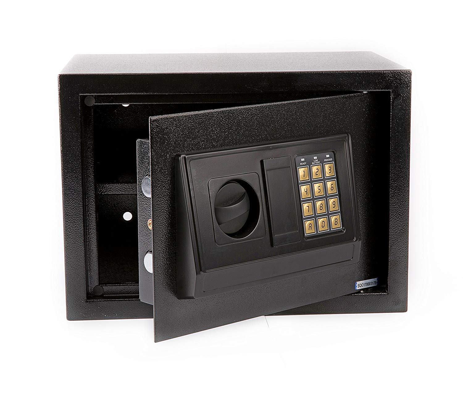 Windaze Electronic Digital Safe Box Keypad Lock Home Office Hotel Hide Cash Gun Valuables, 0.77 Cubic Feet by windaze