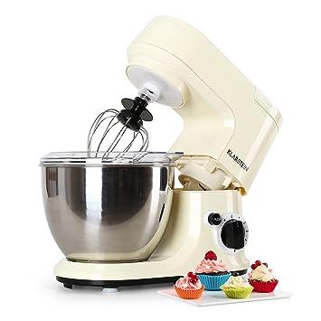 Klarstein • Carina Morena • Robot de cocina • Batidora • Amasadora • 800 W •