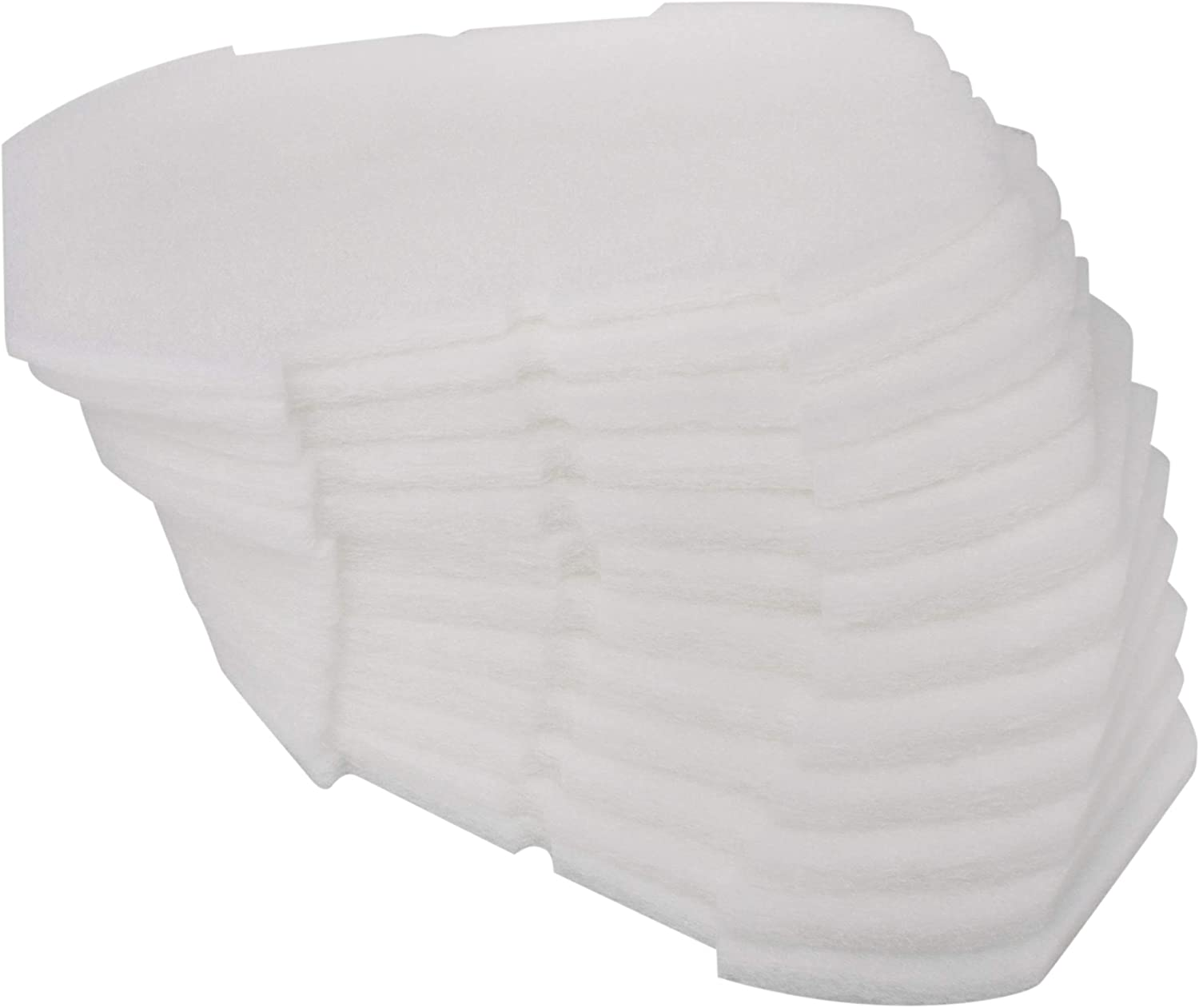 LTWHOME Polymer Wool Pads Fit for Blagdon Affinity Inpond All-in-One Filter (Pack of 12)