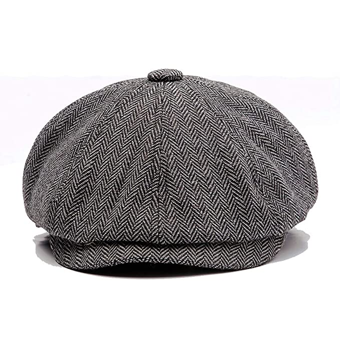 KeepSa -Sombreros Gorras Boinas Newsboy Hat Wool Felt Simple Gatsby Ivy Cap  ...  Amazon.es  Ropa y accesorios 22300fd68a3