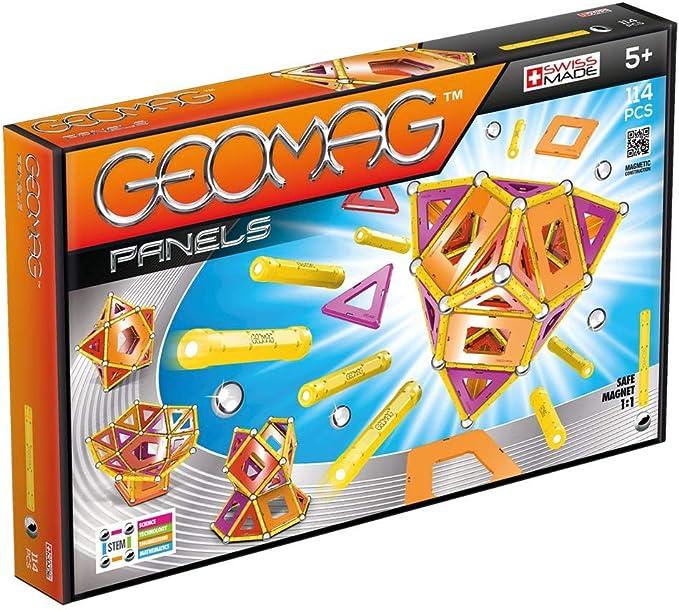 Geomag Classic Panels Juego de Construcción Educativo, 114 piezas (463), Multicolor: Amazon.es: Juguetes y juegos