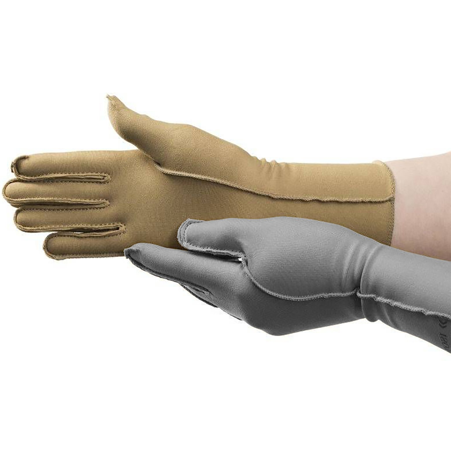 Isotoner Therapeutic Glove, Closed Finger Compression Glove, 23-32 mmHg, Left Hand, Large
