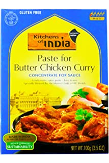 Nice Kitchens Of India BG14904 Kitchens Of India Curry Paste Butter Chicken    6x3.5OZ