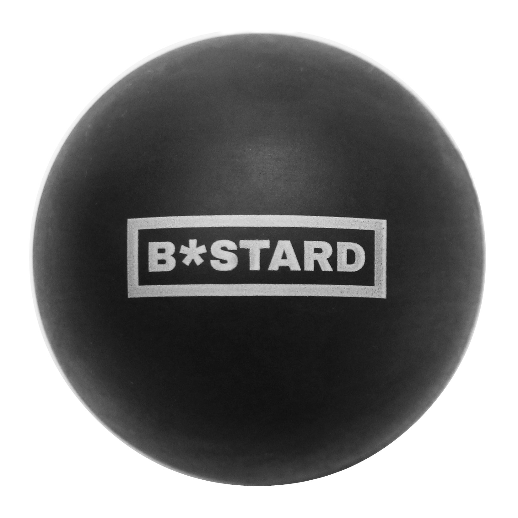 B*stard Mobility Ball - Premium Quality Lacrosse Ball For Trigger Point Massage, Physiotherapy And Rehab - Perfect Mobility Tool For CrossFit Affiliates And Strength & Conditioning Facilities