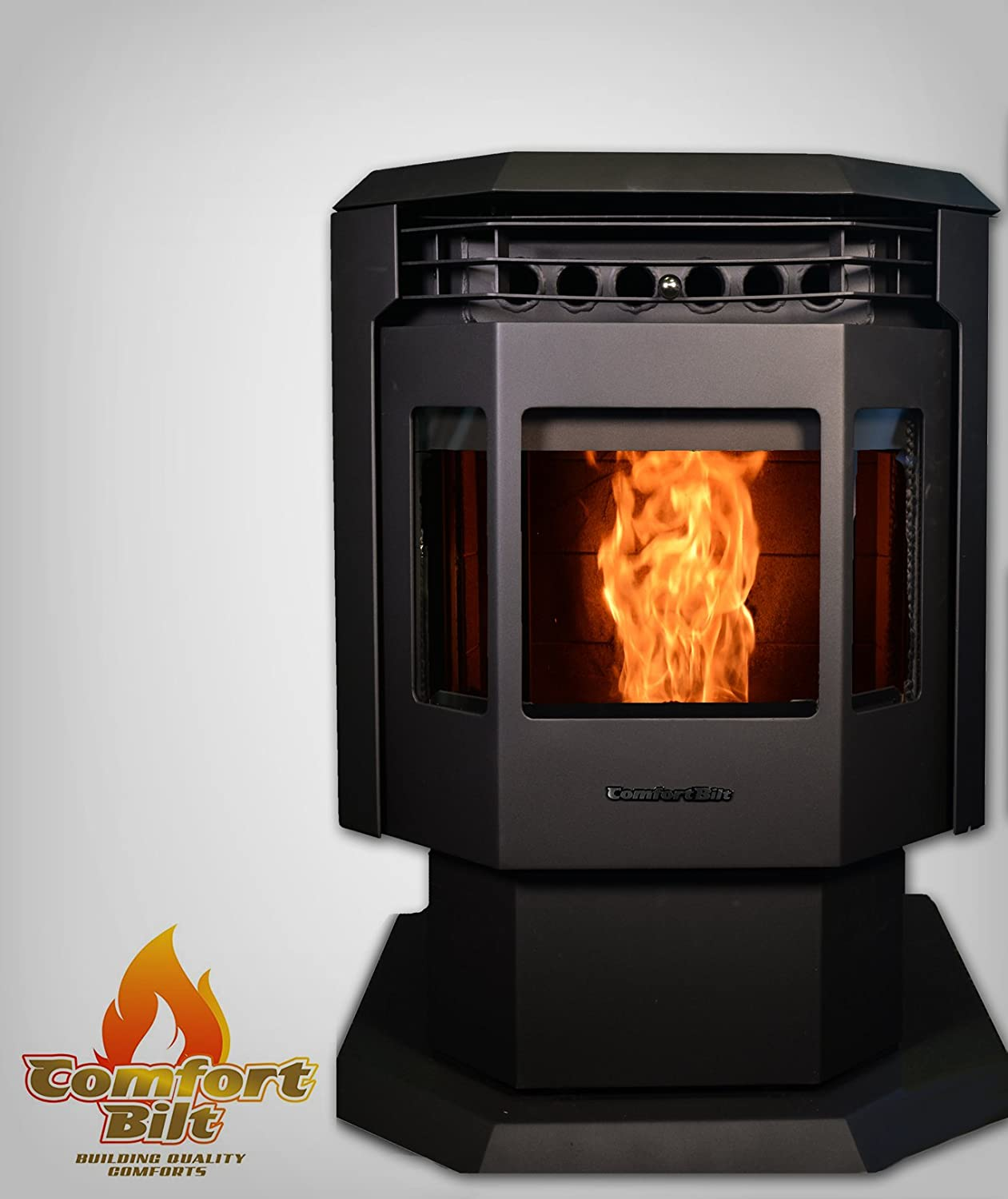 Amazon.com: Comfortbilt Pellet Stove -HP21 34-44,000 btu-Great ...