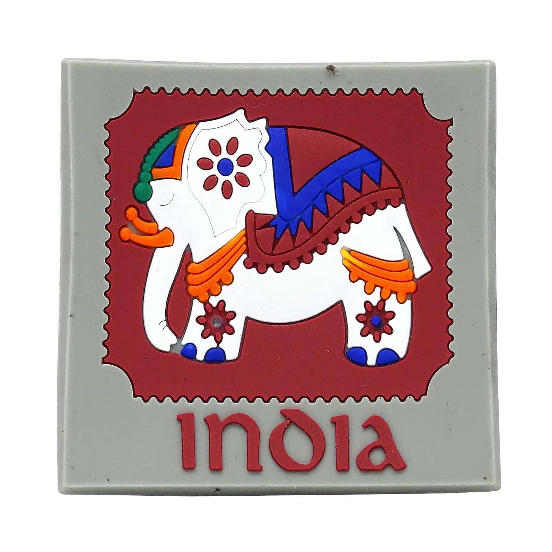 Elefante goma Imán Nevera Regalo de Colección india Souvenir ...