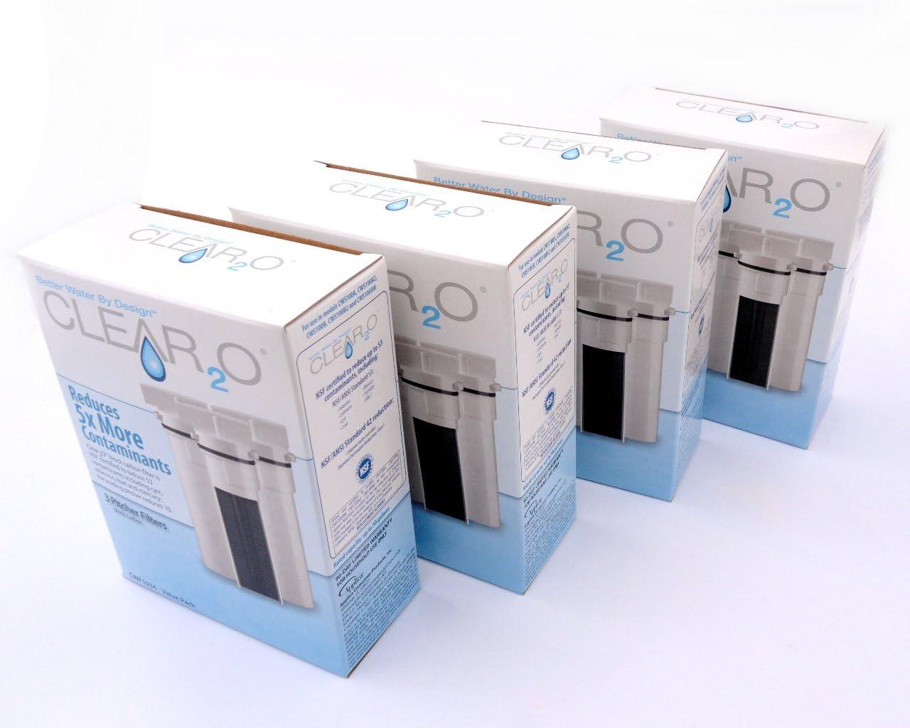 6 Clear2o Water Filters New in box CWF1034 CWF1016 CWF1032 CWF1012 CWF104 Filter