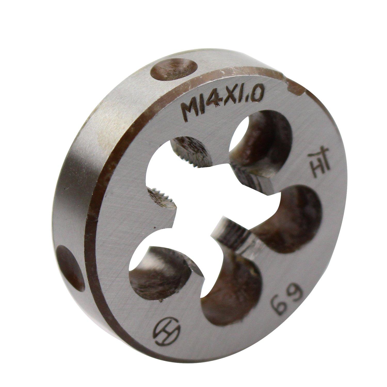 Machine Thread Die M14 X 1.0mm Pitch 14mm X 1 Metric Right Hand Round Die