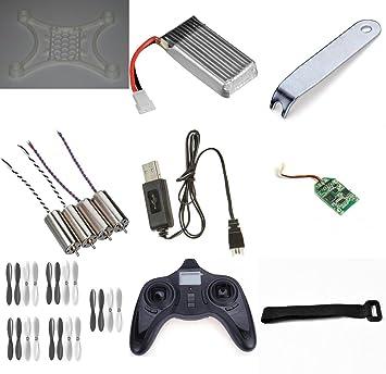 HobbyFlip DIY Quadcopter Drone Kit 3D Printed Frame RX Receiver