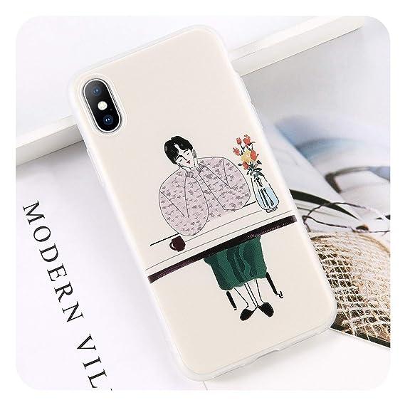 IPhone 6 Case 5 5S 6S X Soft TPU Cactus