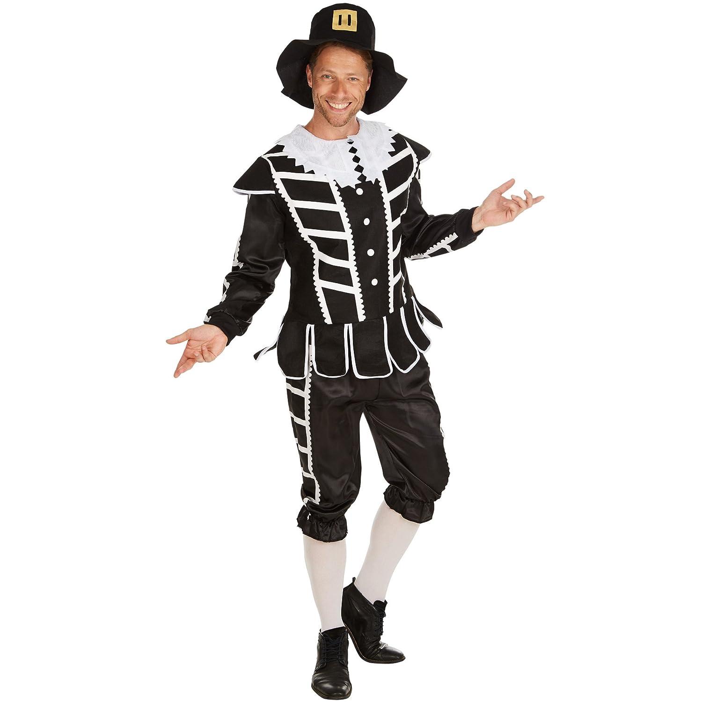 dressforfun Disfraz de Mosquetero para Hombre   Conviértase en Héroe y Caballero   Vestimenta en Estilo del Siglo XVII (M   No. 301231)