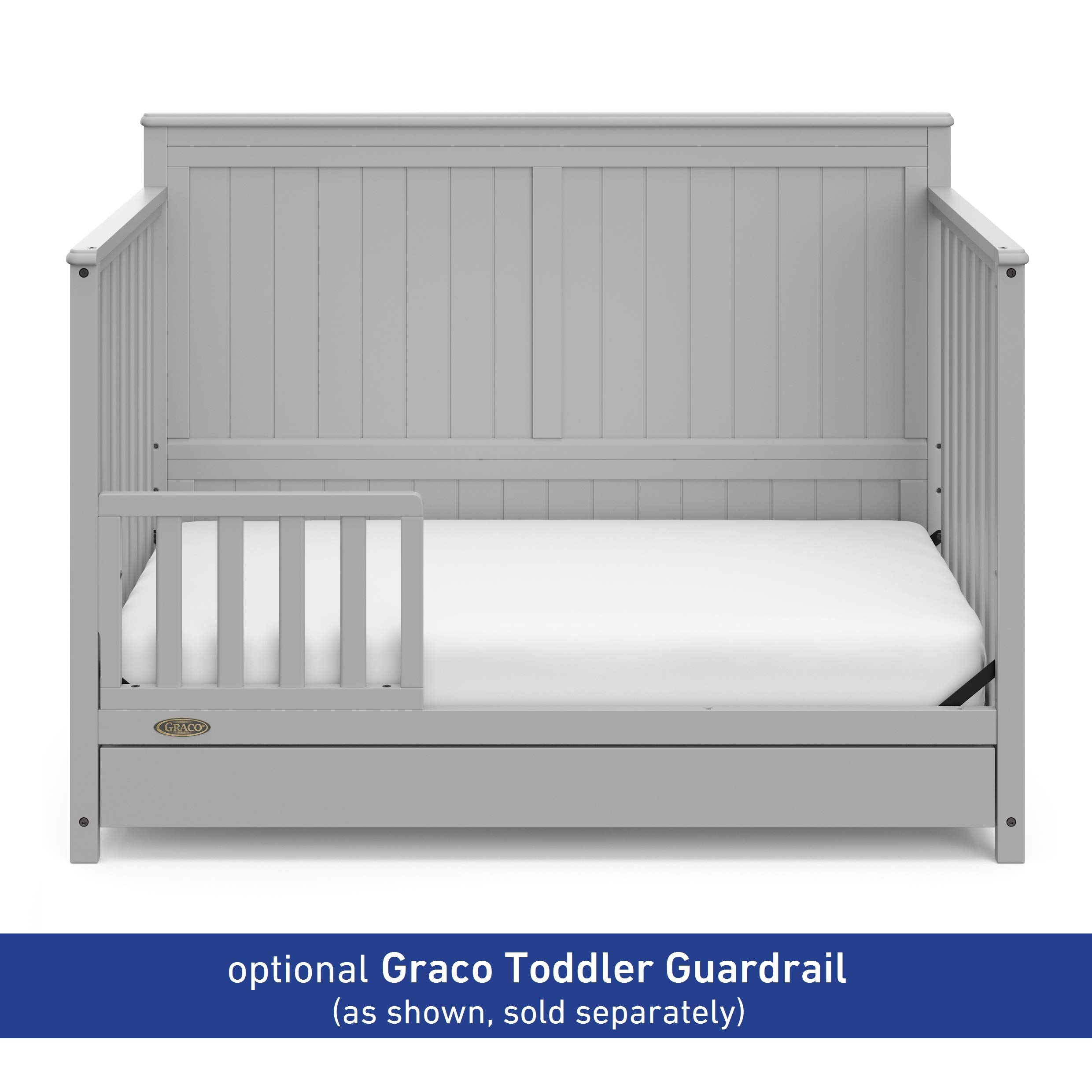 CHEAP Graco Hadley 4-in-1 Convertible Crib with Drawer ...