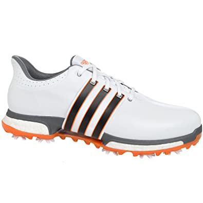 wholesale dealer 97274 66f8b Adidas Golf 2016 TOUR360 Boost Leather Golf Shoes - Wide Fitting - 9 UK -  White