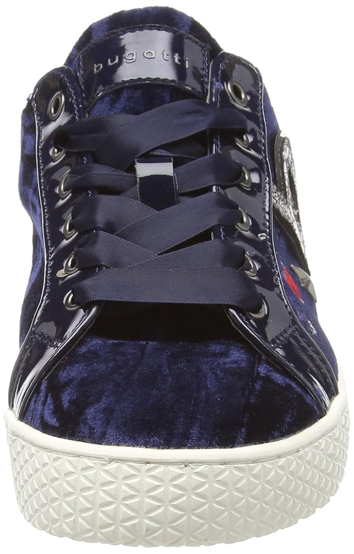 Bugatti Damen 422525026959 Sneaker Blau 4190) (Dark Blau / Metallics 4190) Blau 03336d