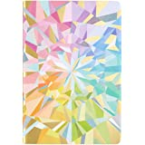 Erin Condren Designer Petite Journal with Lined Pages - Colorful Kaleidoscope. Great for Creative Writing, Journaling, Taking