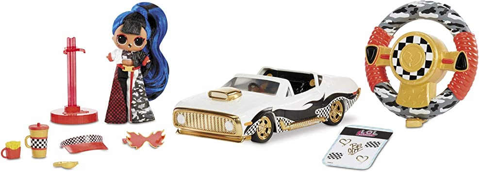 L.O.L. Surprise! RC Wheels – Remote Control Car with Limited Edition Doll