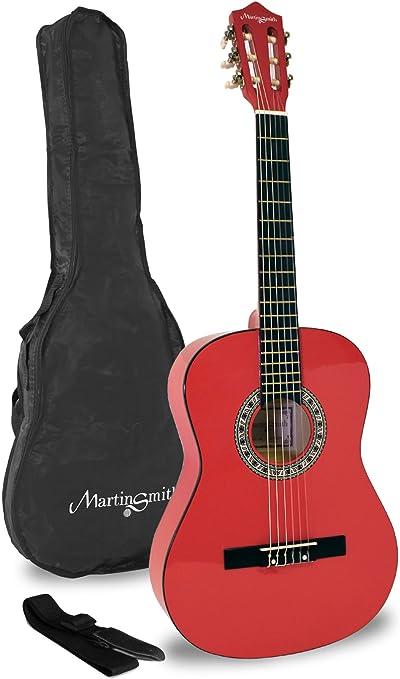 Martin Smith W-36-RD-PK - Guitarra clásica de 36 pulgadas: Amazon ...