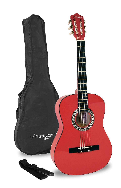 Martin Smith W-34-PNK-PK Acoustic Gitarre rosa Technote
