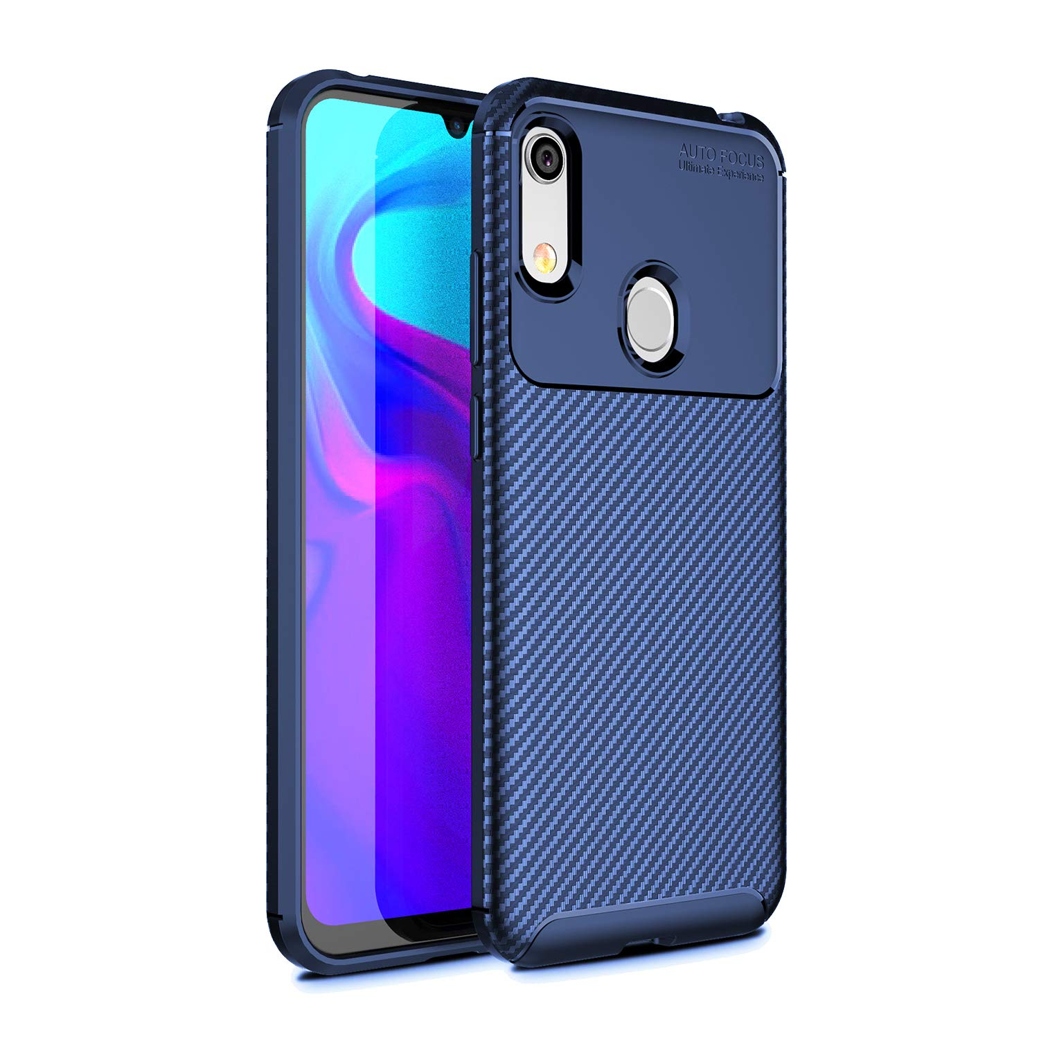 Pulen for Huawei Honor Play 8A Case,Flexible Protective Cover Anti-Slip Scratch Proof Shock-Absorption Ultra Light Shell Soft Gel Silicone Case for ...