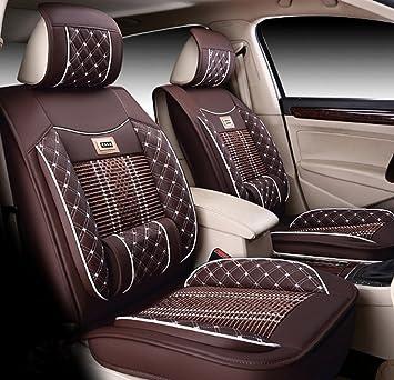 Ice-Man Universal 5 asientos delanteros y traseros funda para cojín de asiento de coche