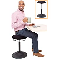 Stand Steady Active Motion Stool | Ergonomic Tilting Desk Chair with 360° Swivel Seat | Height Adjustable Rocking Stool…