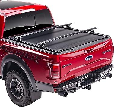 Amazon Com Retraxone Xr Retractable Truck Bed Tonneau Cover T 60373 Fits 2015 2020 Ford F 150 Super Crew Super Cab 5 6 Bed Automotive