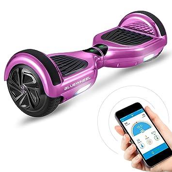 Bluewheel HX310s Patin eléctrico con Sistema de Seguridad para niños a través de App, Altavoz