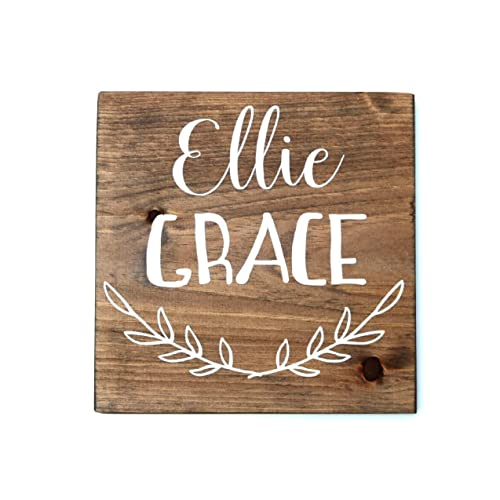 Amazon personalized baby gifts wood sign for bedroom childs personalized baby gifts wood sign for bedroom childs room decor personalized nursery decor negle Gallery