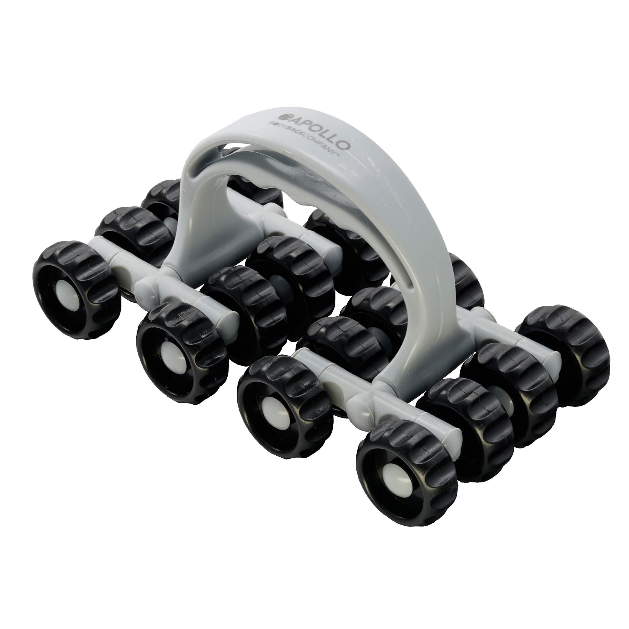 Apollo Roller Massage Tool by Body Back Company - Full Contact Muscle Roller, Arm, Leg, Calf & Neck Massager for Trigger Point Release, Deep Tissue Relaxation, Handheld Foot Care, Stress & Pain Relief