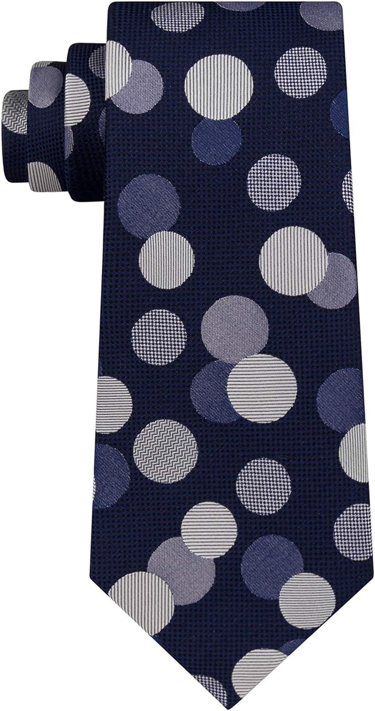 Sean John Mens Exploded Dot Self-Tied Necktie