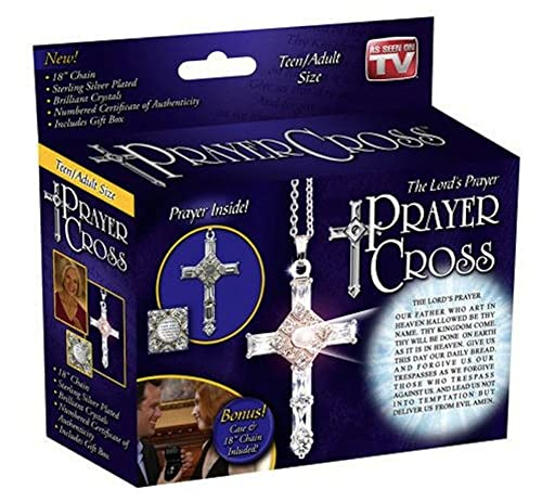 424d09a5415d0 The Lord's Prayer Cross Original As Seen on Tv: Amazon.ca: Jewelry