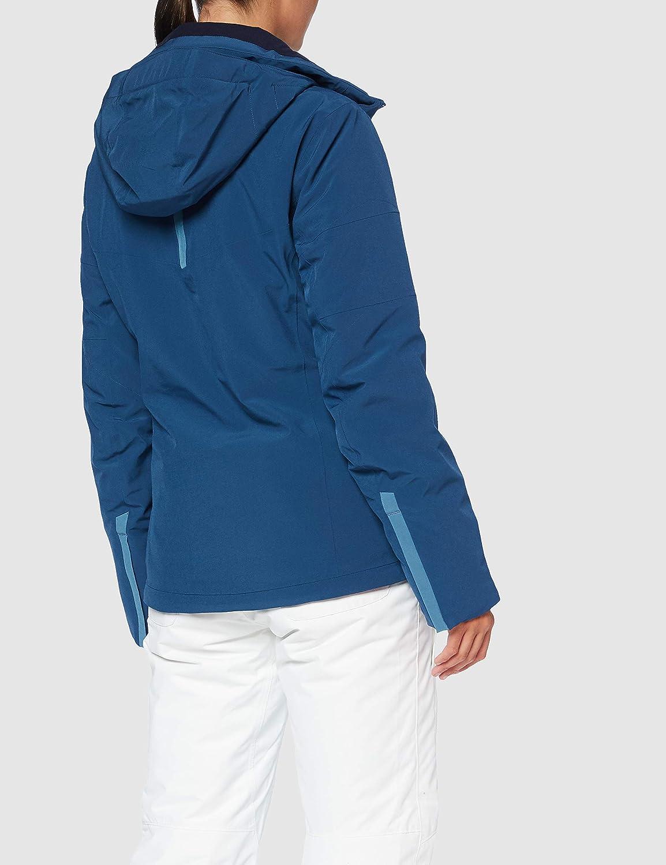 Polyester//Elasthanne//Polyamide LC1380200 Salomon Veste de ski femme Red Dahlia SPEEDJACKET W Rouge Taille M