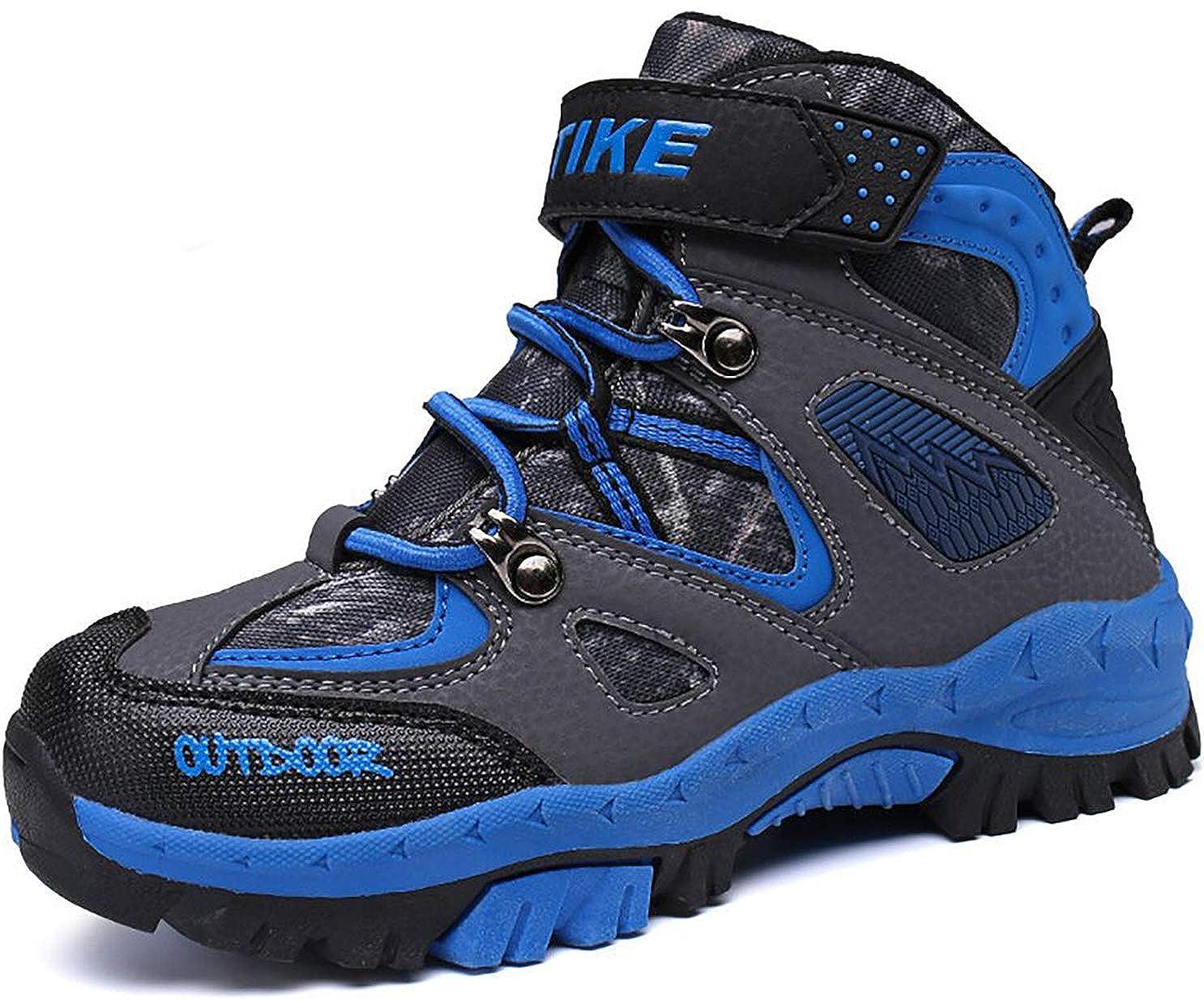 VITIKE Kinder Schneestiefel Jungen Warmfutter Jungen Schneestiefel Wanderschuhe Sportlich bequem Schuhe Outdoor Wandern Trekking Jungen Stiefel M/ädchen Stiefel