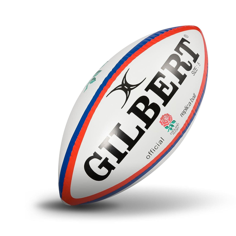 GILBERT INGLATERRA Balón de Rugby Gigante Hinchable: Amazon.es ...