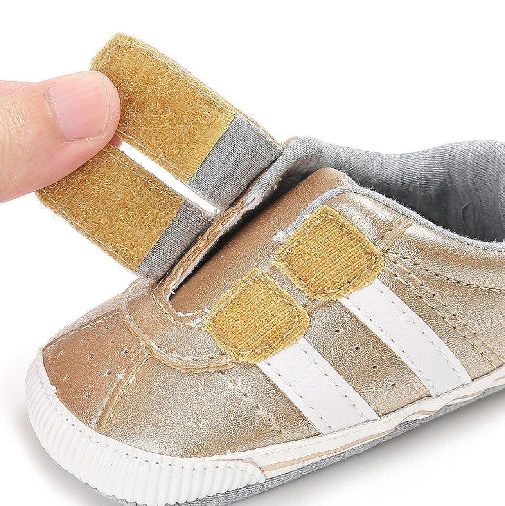 Zapatos de beb/é Auxma Zapatillas de Deporte Infantiles Suaves del ni/ño de Prewalker de Las Muchachas de los Muchachos de los beb/és para 6-12 12-18 Mes