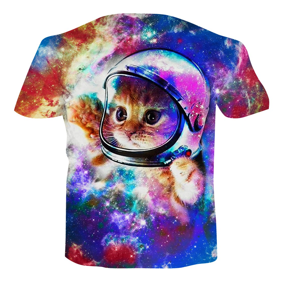 b00ca6d6d RAISEVERN Unisex Summer T-Shirts Crewneck Cool Short Sleeve Funny Graphic  Print Top Casual Tees   Amazon.com