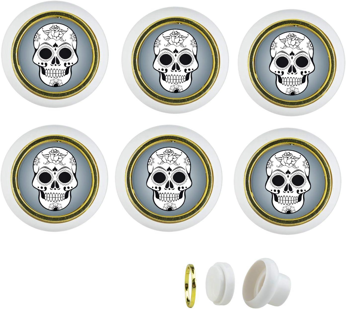 commode cuisine chambre denfant porte tiroir salle de bains maison KST016S Lot de 6 boutons de meuble en plastique Motif football Pour placard