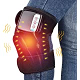 Wireless Heating Knee Pads Knee Massager for Pain Relief Heated Vibration Knee Brace Wrap Heating Massage for Arthritis…