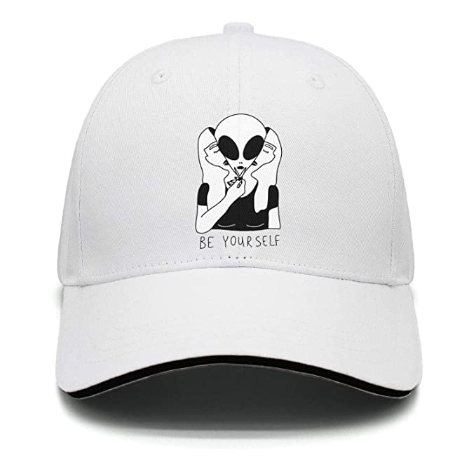 98a48432cac Fuoong unisex fashion girl be yourself alien baseball hats visor vintage cap  at amazon men clothing