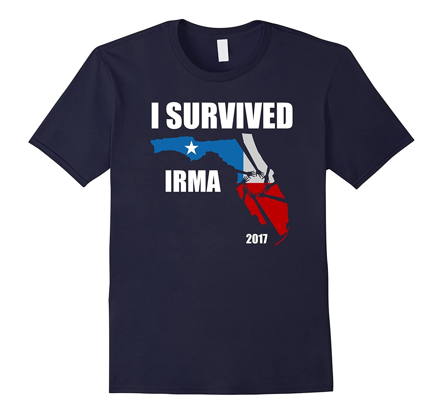 I Survived Hurricane Irma Tshirt Unisex 2017-FL