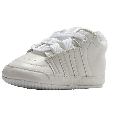 Abdc Kids Baby Boys White First Walking Shoes