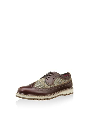e9053888e4 Timberland Britton Hill Leather and Harris Tweed Oxford Shoes 9722B ...