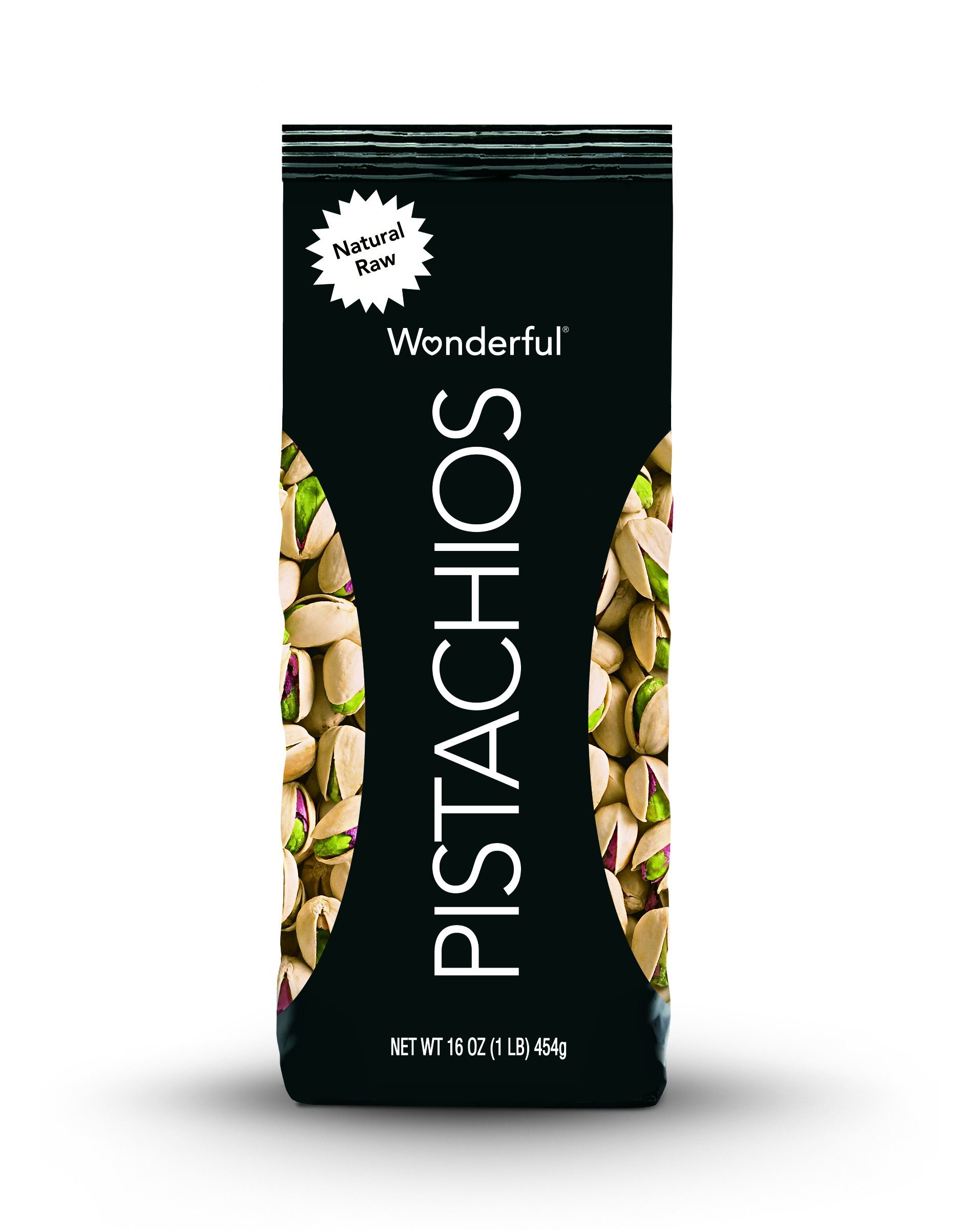 Wonderful Pistachios, Natural Raw, 16 Ounce Bag