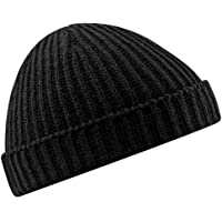 check out f357b e3c43 Beechfield Unisex Retro Trawler Winter Beanie Hat Baseball Cap
