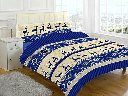 Juego de sábanas de franela con sábana bajera, sábana, fundas de ...