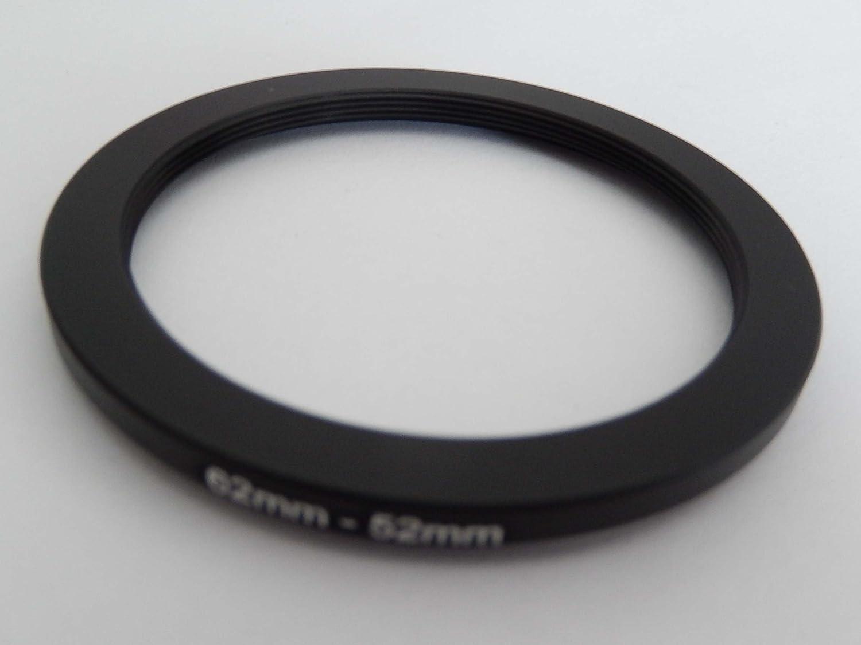 vhbw Step Down Anello adattatore per Filtro 62mm - 52mm nero per Fotocamera Agfa, Agfaphoto, Canon, Casio, Fujifilm, Kodak, Minolta, Nikon, Olympus VHBW4251156523721