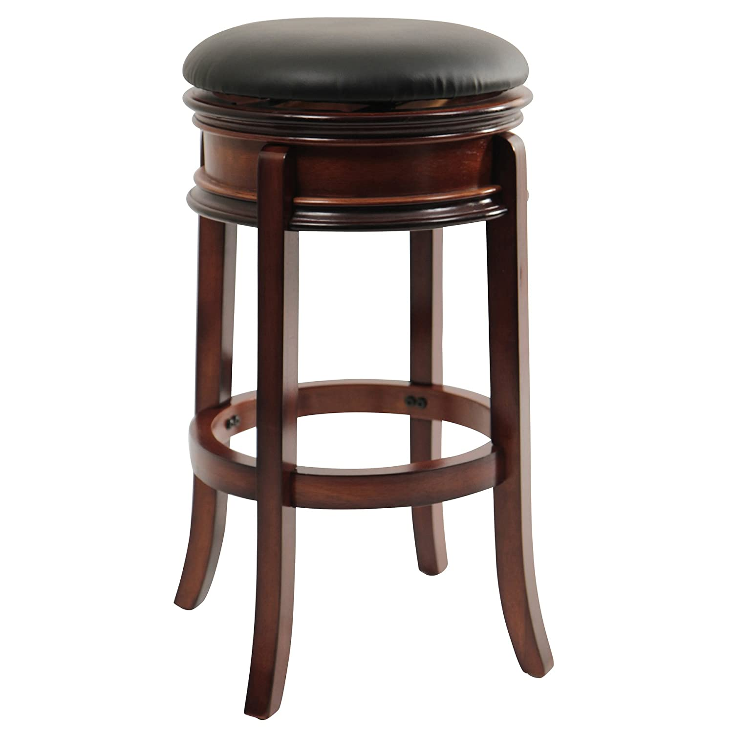 Amazon: Boraam 43029 Magellan Bar Height Swivel Stool, 29inch, Brandy:  Kitchen & Dining
